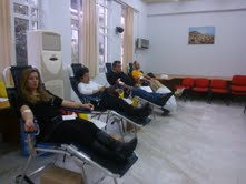 39η Εθελοντική Αιμοδοσία Δήμου Πετρούπολης.