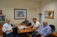 Δεύτερη Συνάντηση του Δημάρχου Πετρούπολης Σίμου Ευάγγελου με τον Αντιπεριφερειάρχη Δυτικού Τομέα Αθηνών Σπύρο Τζόκα