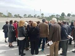 """Επίσκεψη των μελών του ΚΑΠΗ  στο Κέντρο Πολιτισμού  """"Ίδρυμα Σταύρος Νιάρχος""""."""