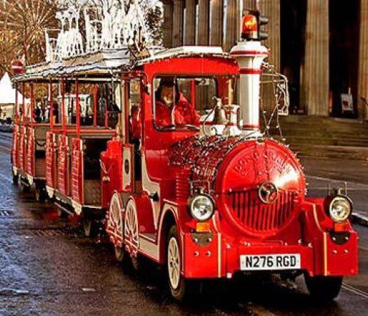 Το τρένο των Χριστουγέννων έρχεται στην πόλη μας!