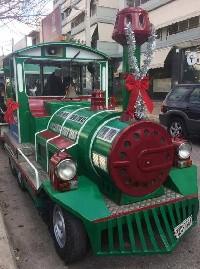 Χριστουγεννιάτικο Τρενάκι στην πόλη μας! Δείτε αναλυτικά τη διαδρομή