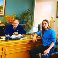 Συνάντηση του Δημάρχου Πετρούπολης Στέφανου Βλάχου, με τον Βουλευτή Β2 Δυτικού Τομέα Αθήνας Κρίτων Αρσένη.