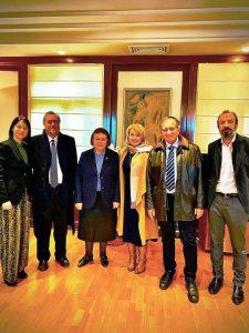 Επίσκεψη του Δημάρχου, στην Υπουργό Πολιτισμού Λίνα Μενδώνη