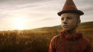 Στιγμιότυπο του πινόκιο μέσα από την ταινία.