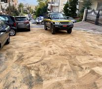 Διαρροή Πετρελαίου επί της οδού Χαριλάου Τρικούπη.