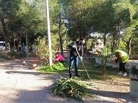 Συνεχίζονται οι ενέργειες καθαρισμού και ευπρεπισμού στο Άλσος Αγίου Δημητρίου