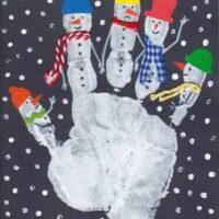 χιονάνθρωποι-με-παλάμη