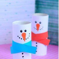 χιονάνθρωποι-με-ρολά