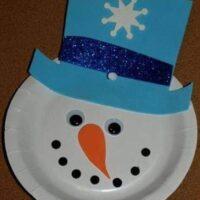 χιονάνθρωπος-σε-πιάτο