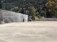 Σε εξέλιξη τα έργα ανάπλασης εξωτερικών αθλητικών χώρων στα γήπεδα της Αγίας Τριάδας