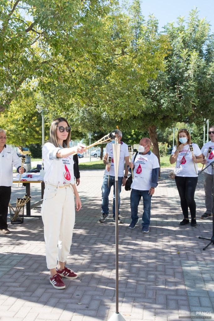 Η «Φλόγα της Αγάπης» άναψε στον Δήμο Πετρούπολης